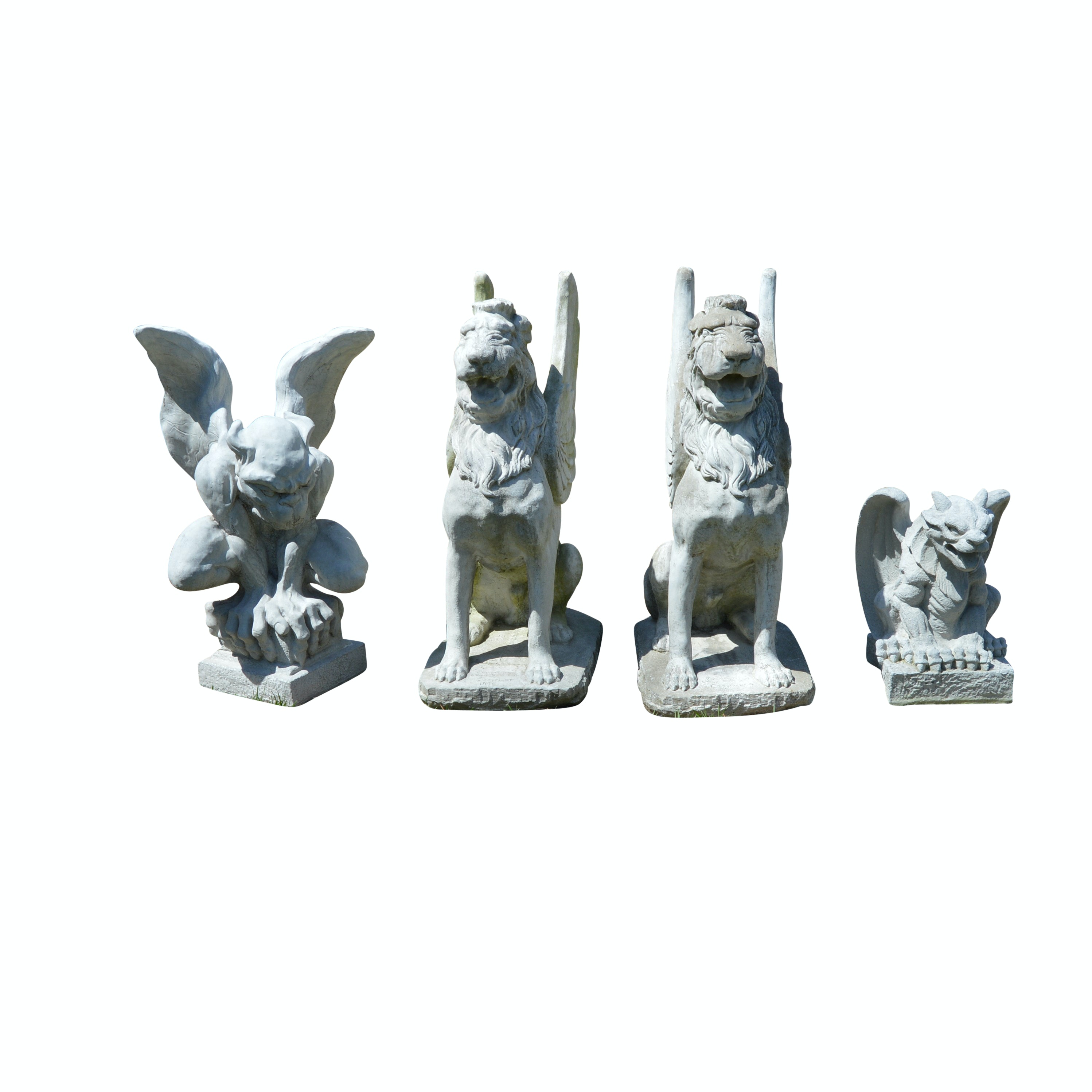 Outdoor Concrete Griffins and Gargoyles