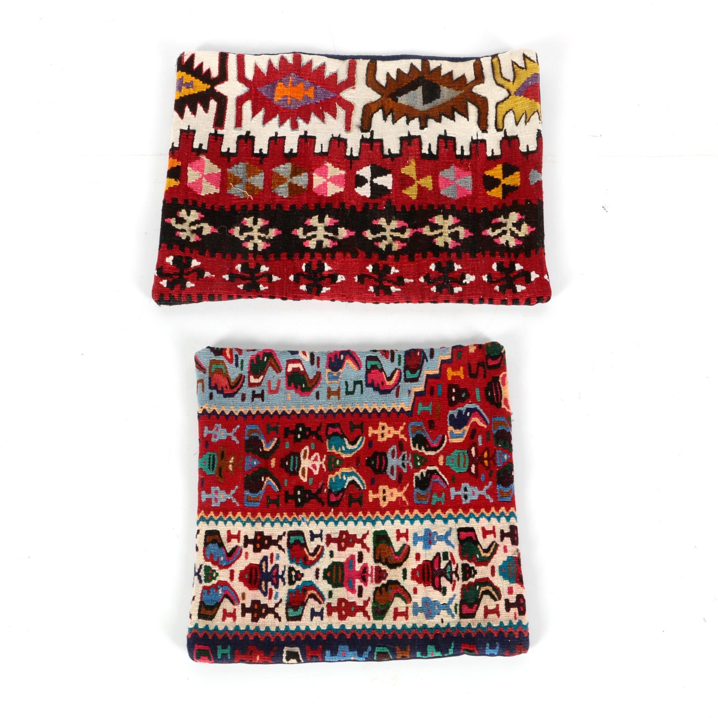 Pairing of Kilim Pillow Cases