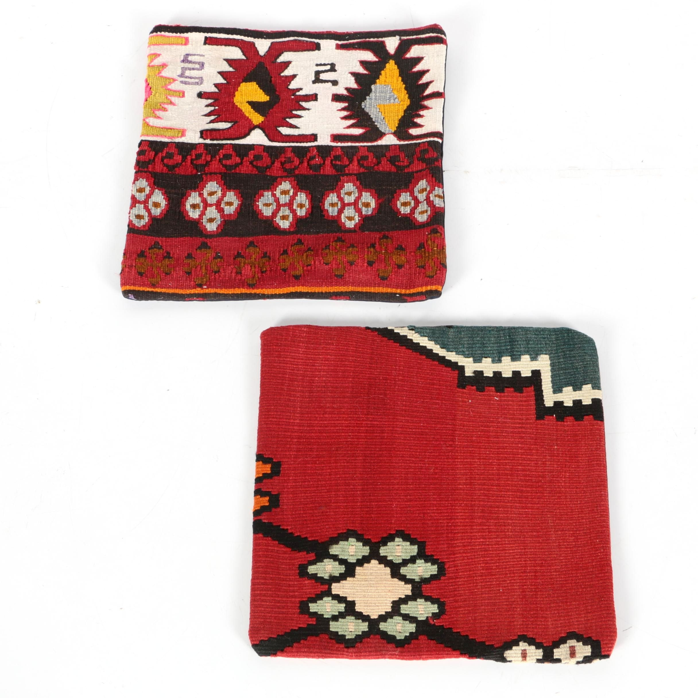 Pairing of Kilim Pillow Covers