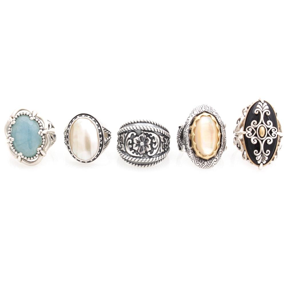 Sterling Silver Carolyn Pollack Rings