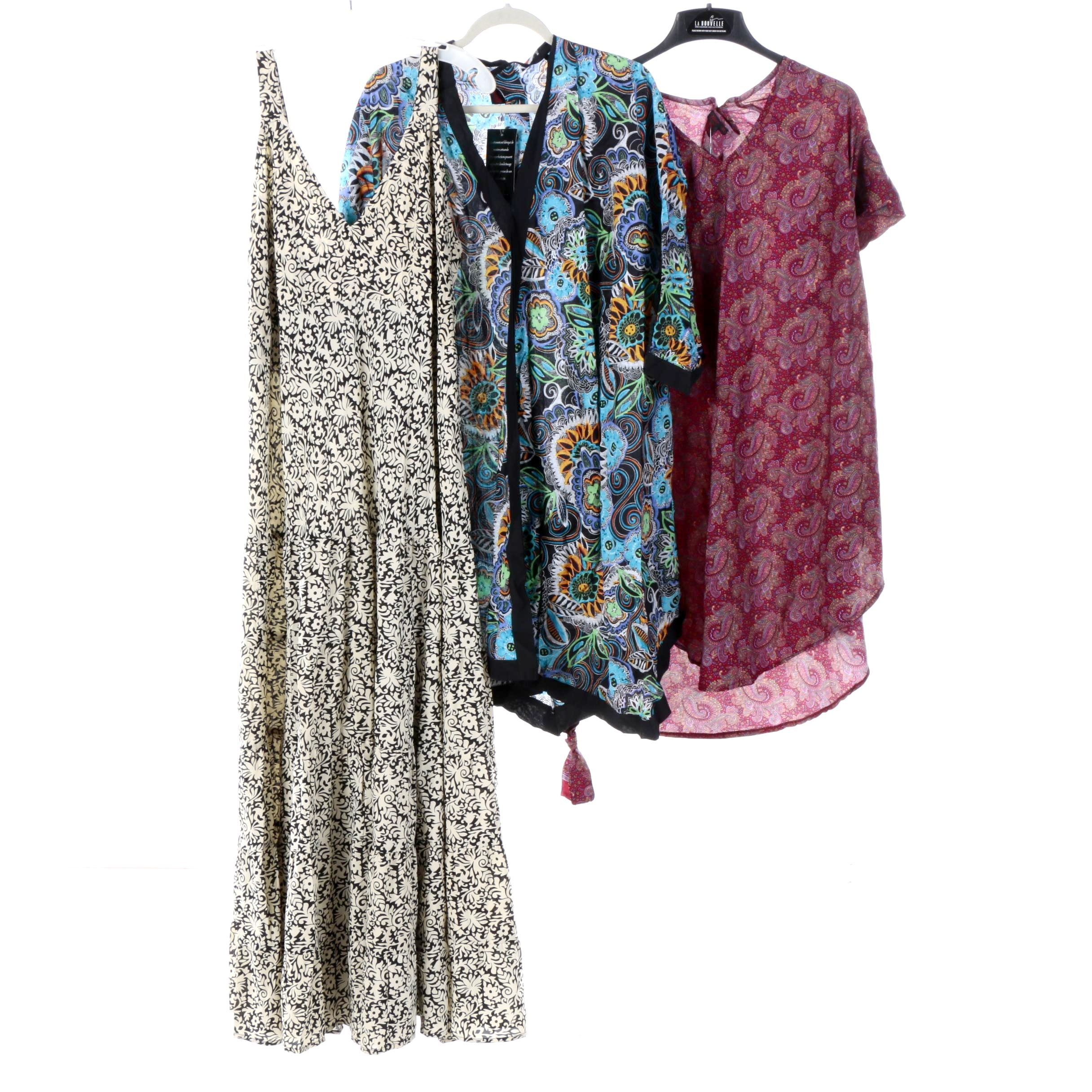 Women's Aller Simplement Tunic Tops and Sundress