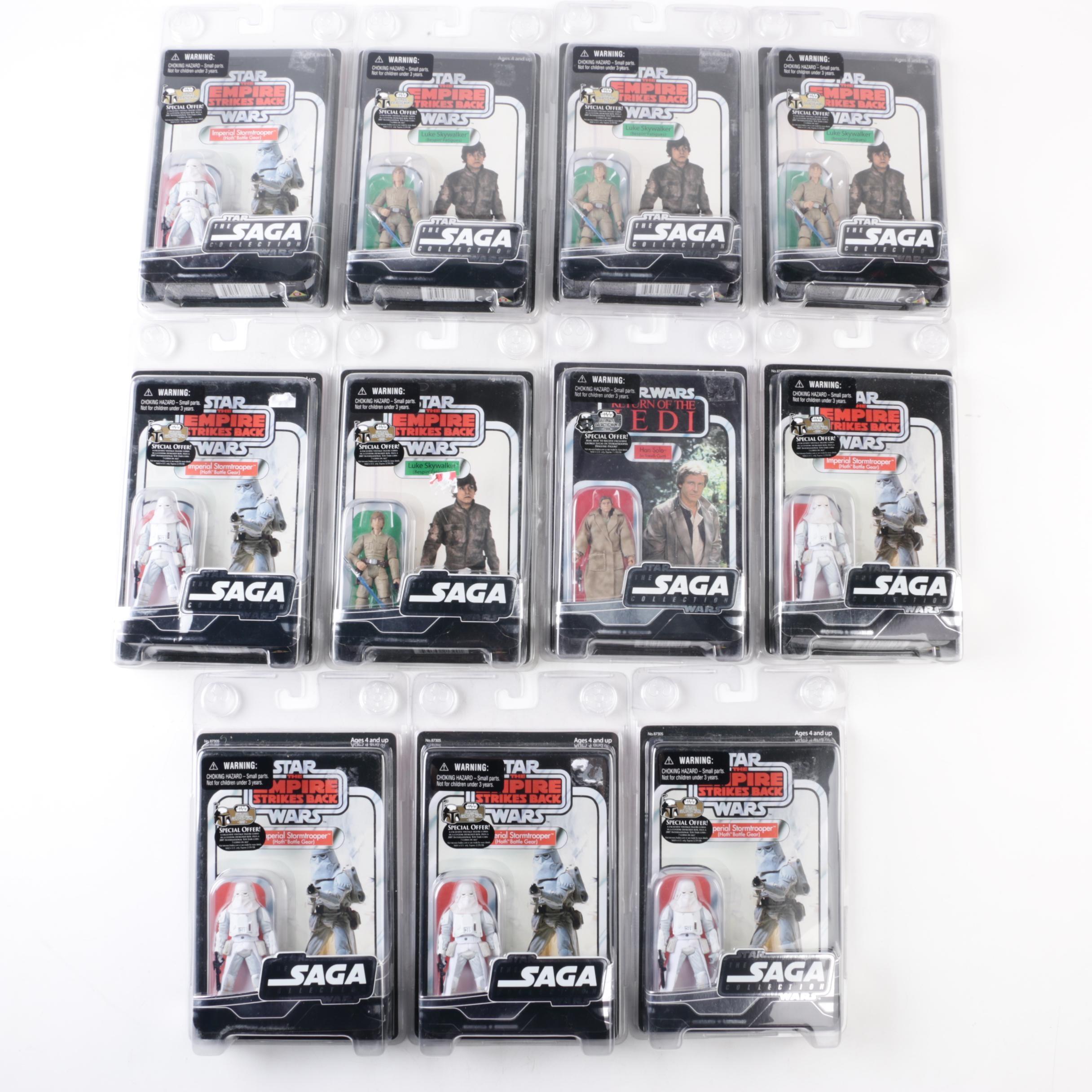 "2007 Star Wars ""The Saga Collection"" Action Figures"