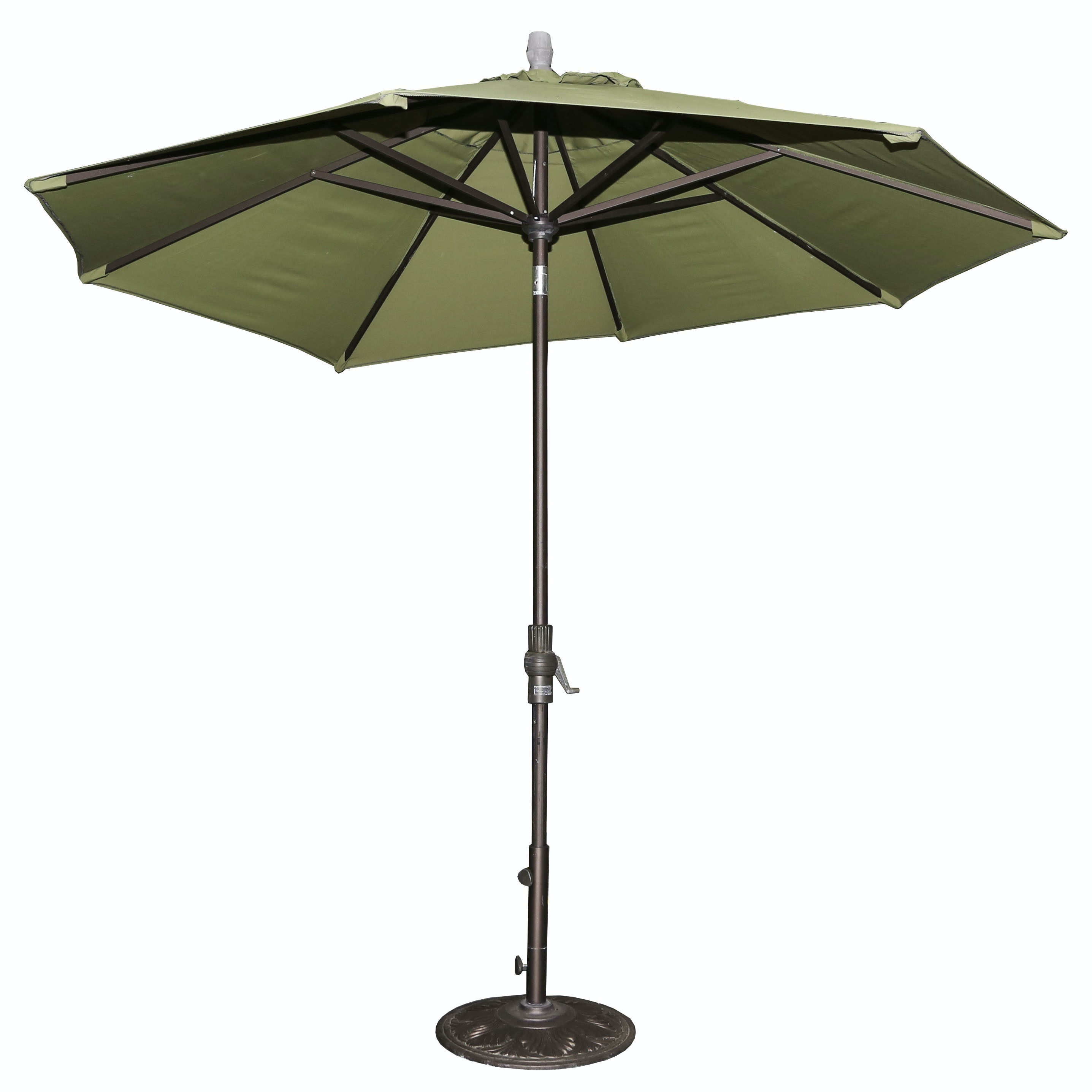 Treasure Garden Patio Umbrella and Stand
