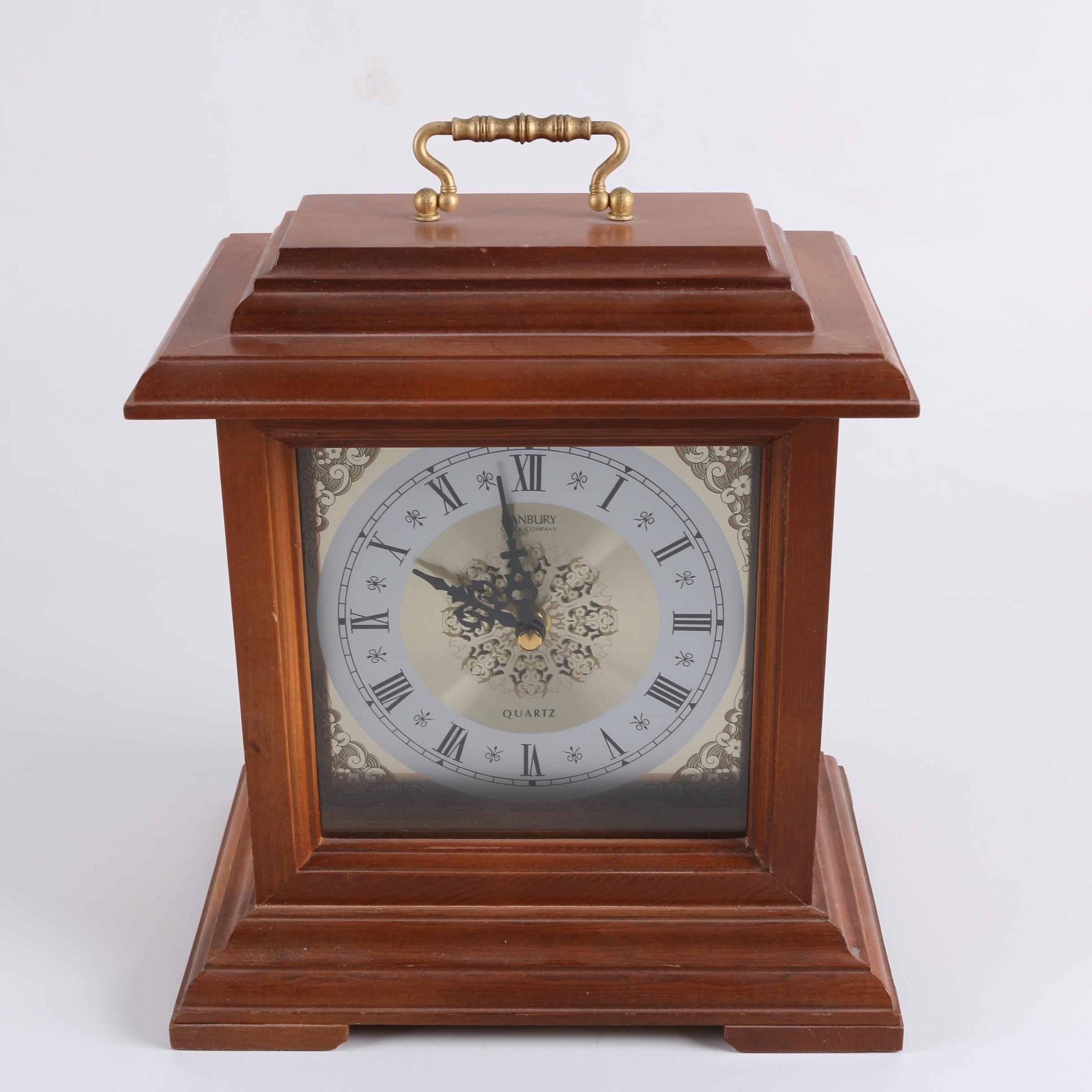Danbury Clock Co, Quartz Carriage Clock