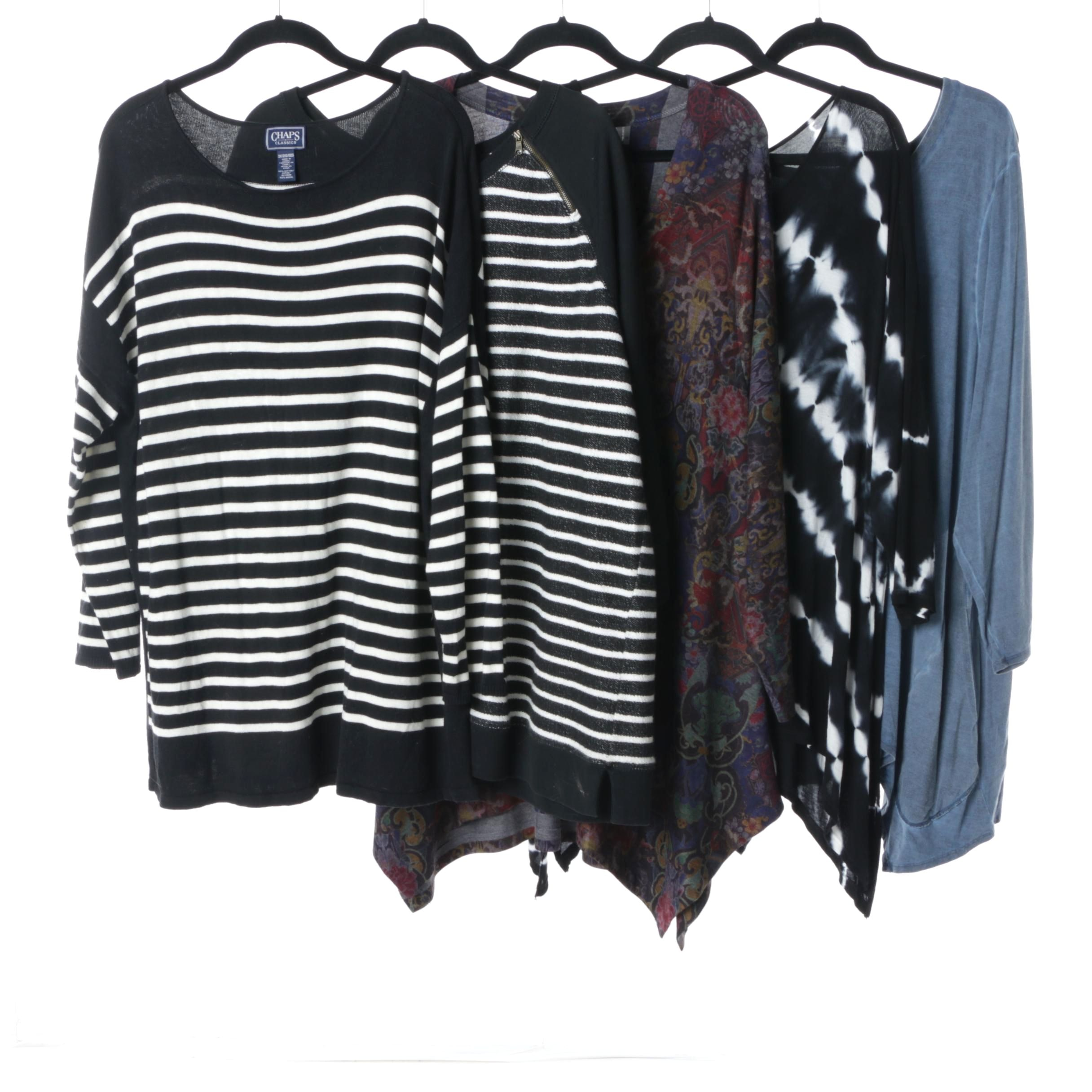 Women's Tops Including INC and Lauren Jeans Co. in Sizes 2X and 3X