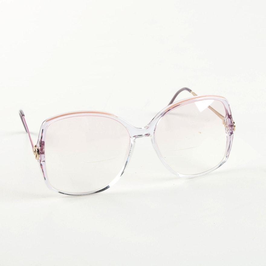 8607a8049ee3 Vintage Gucci Oversized Prescription Eyeglasses | EBTH