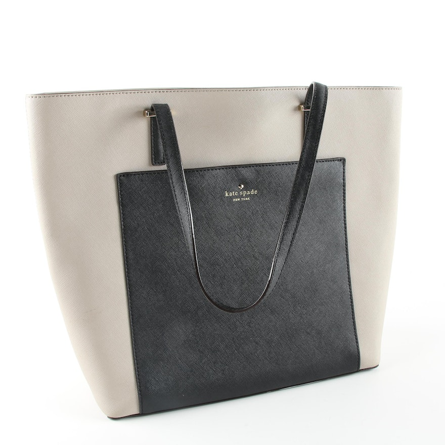 Kate Spade New York Coated Canvas Tote   EBTH a4bef74171ede