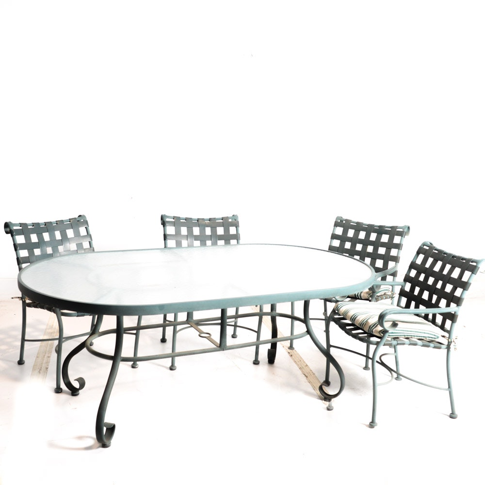 Patio Set with Table and Chairs
