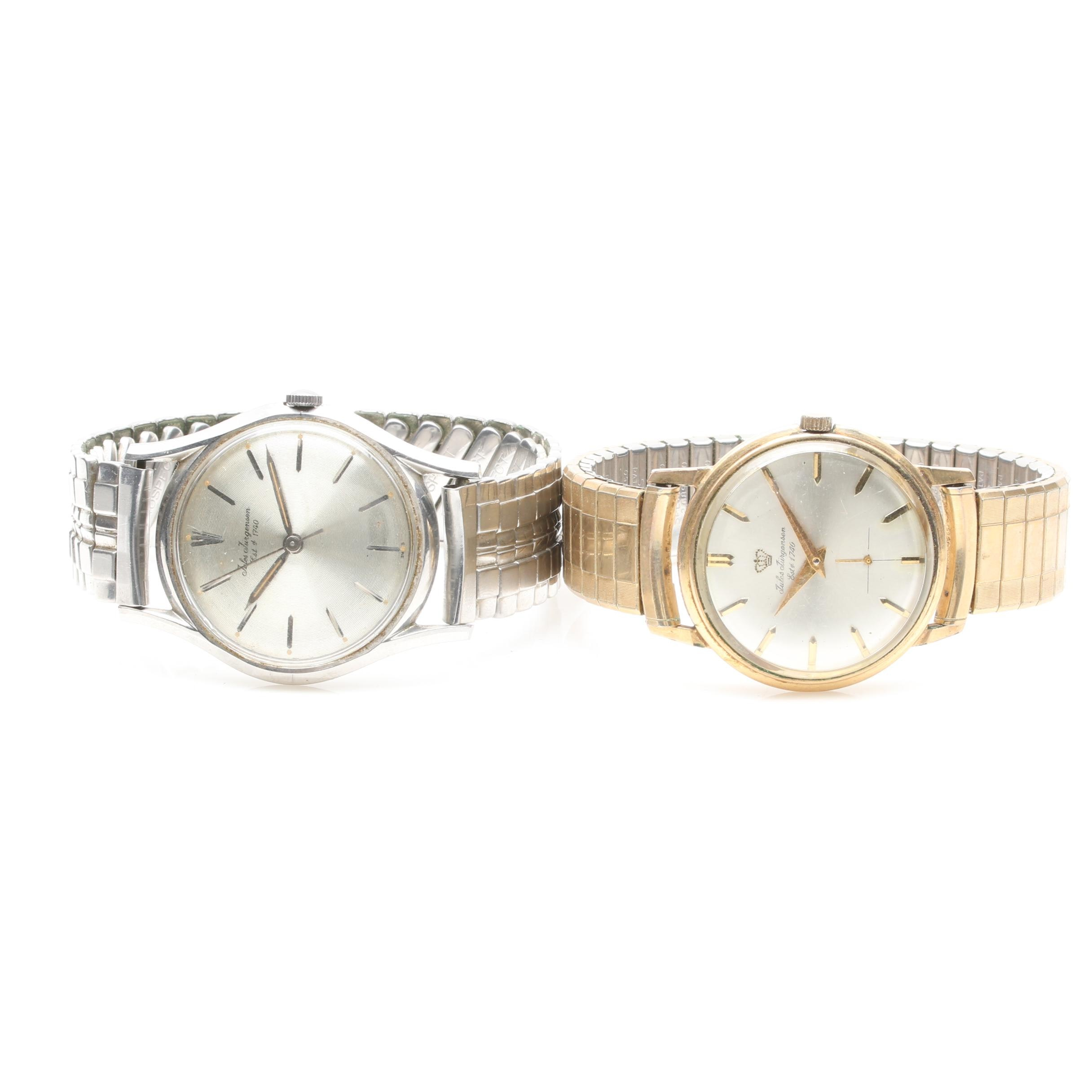 Juled Jurgenson Stainless Steel and 10K Gold Fill Watch Selection