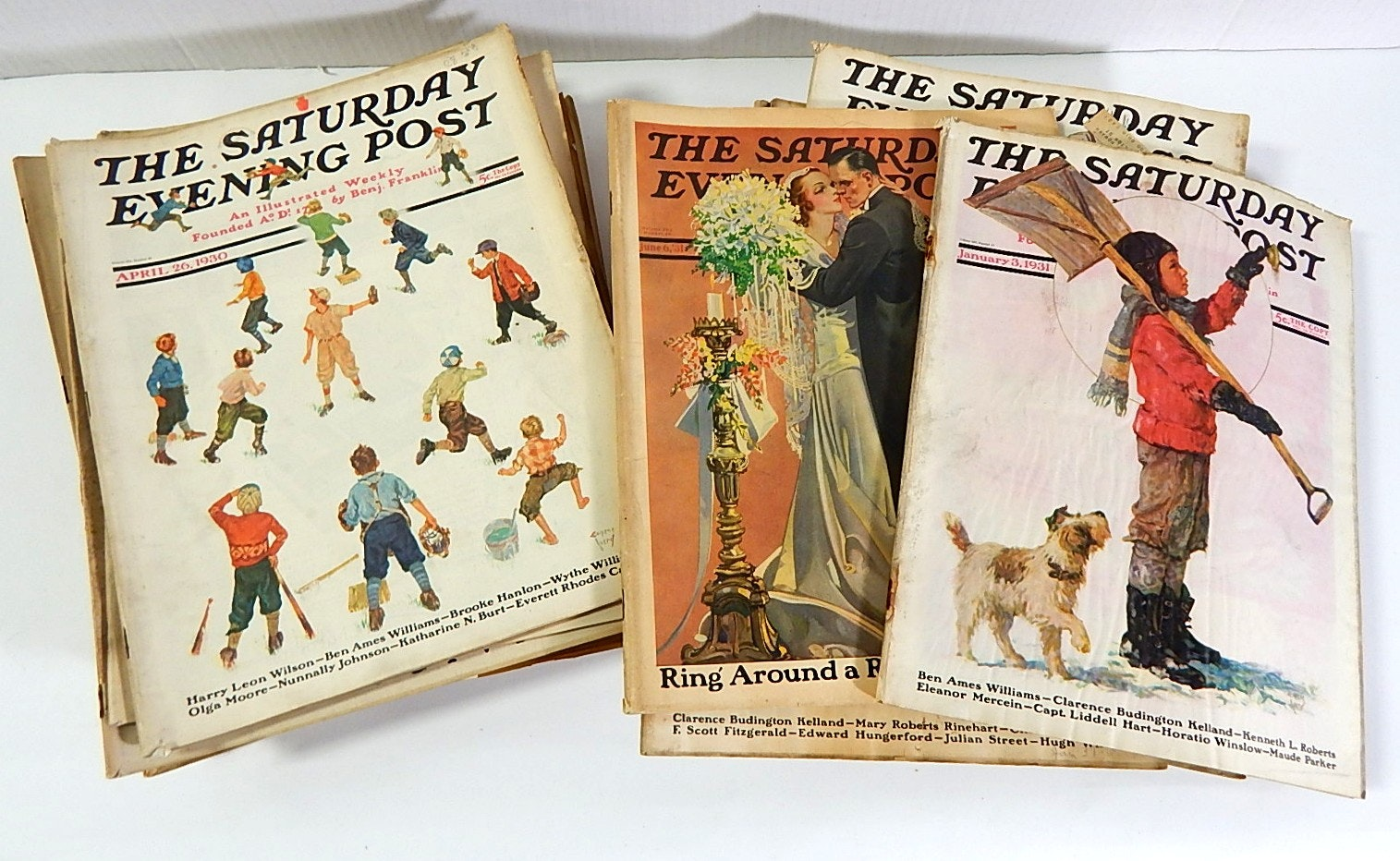 """1930s Issues of """"The Saturday Evening Post"""""""