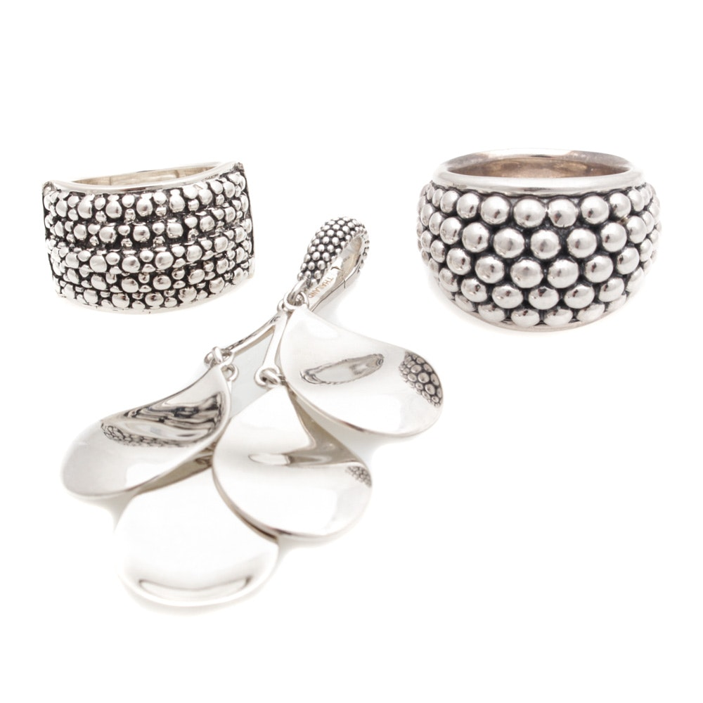 Sterling Silver Jewelry Featuring Michael Dawkins