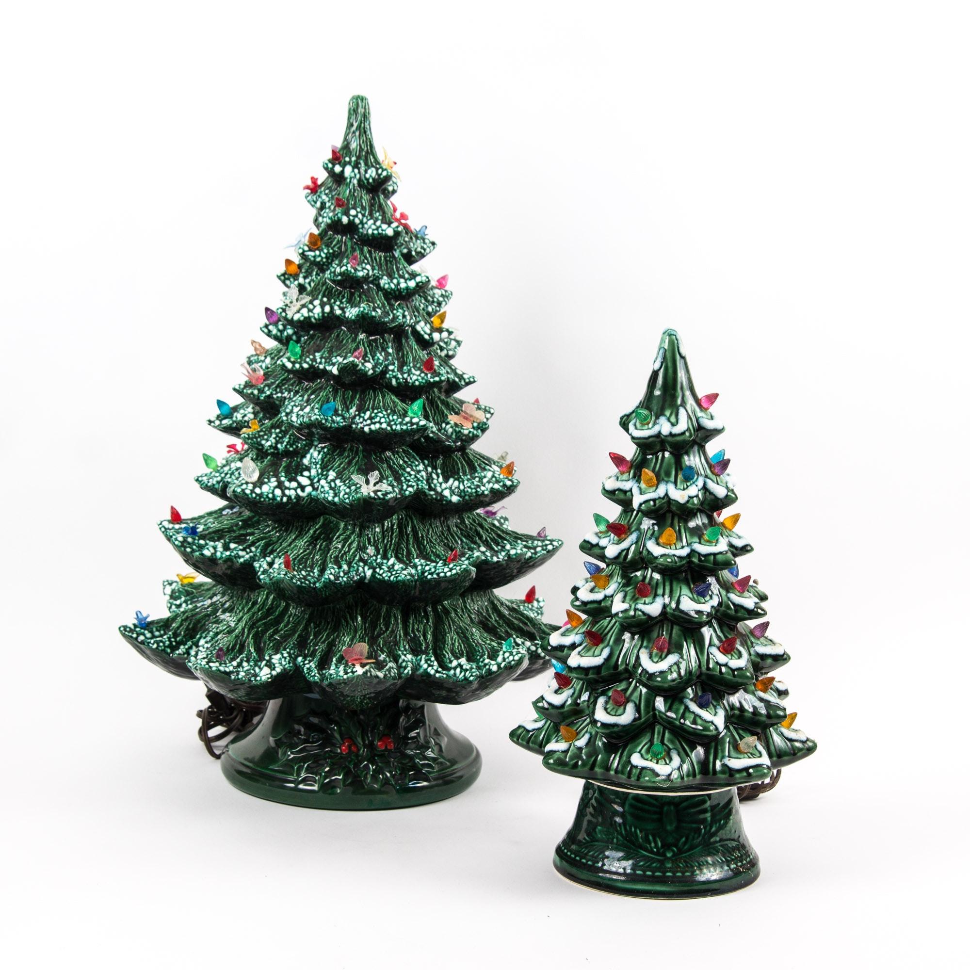 Vintage Ceramic Christmas Tree For Sale