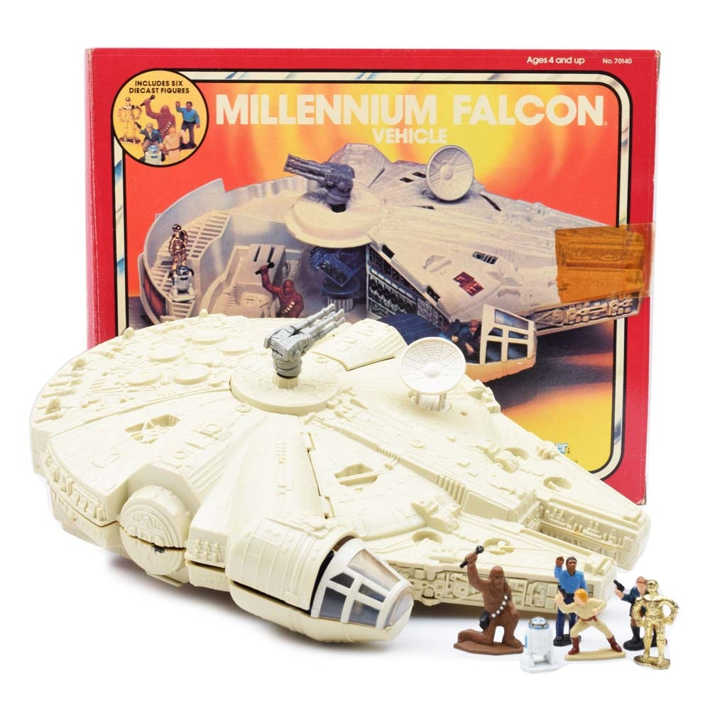 1983 Kenner Star Wars Micro Collection Millennium Falcon Vehicle