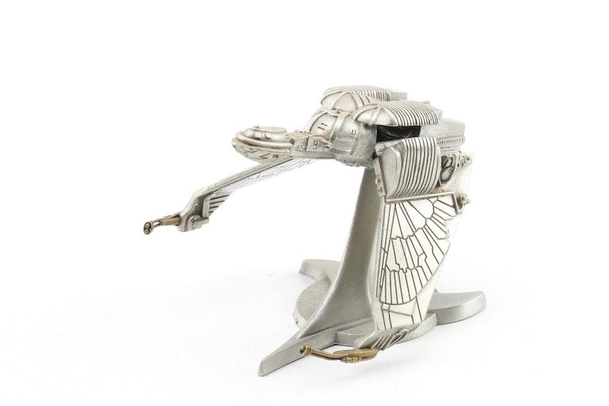 We lowered the price 1991 Franklin Mint Star Trek Pewter