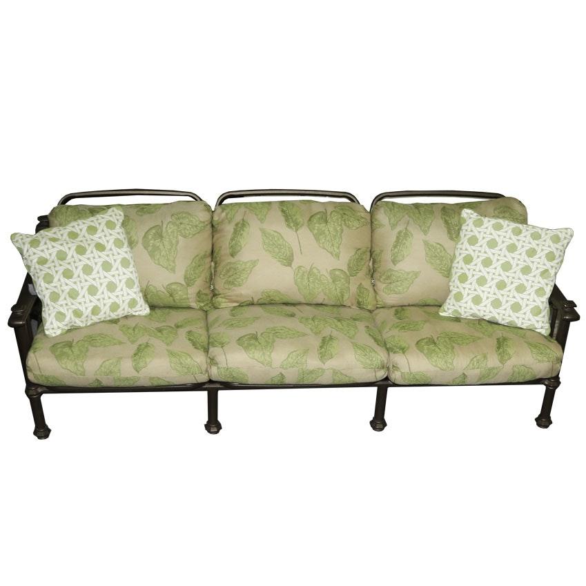 Brown Jordan Patio Sofa