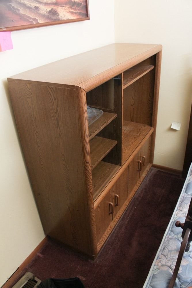 Pressed Wood Entertainment Cabinet