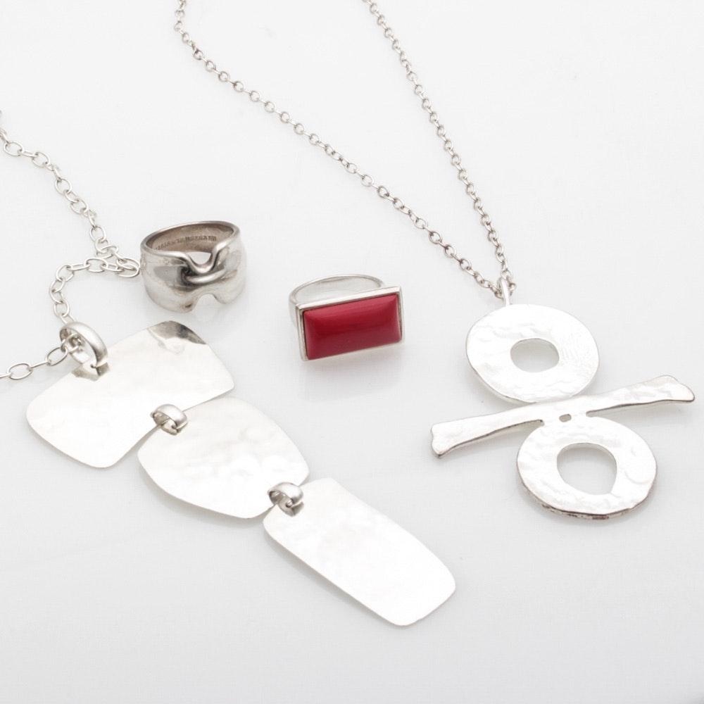 Robert Lee Morris Sterling Silver Jewelry