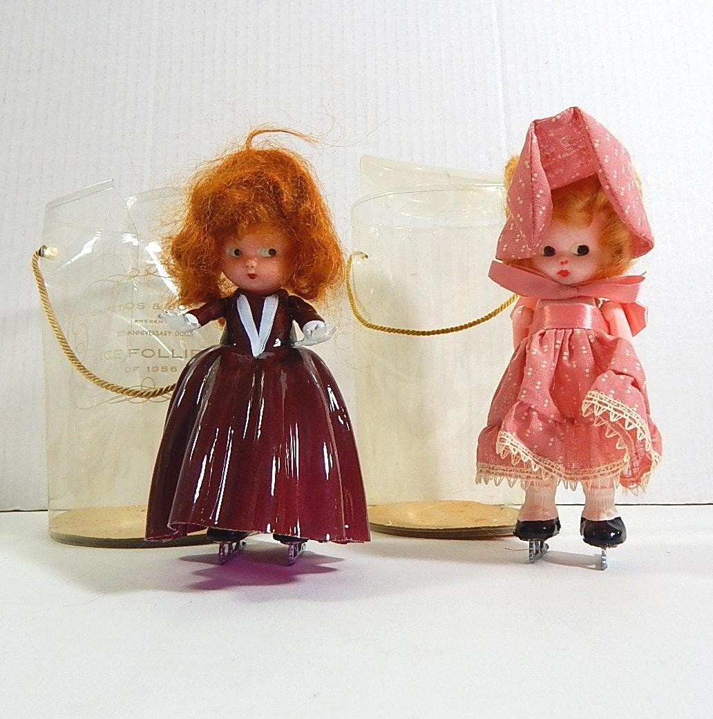 "Two 1950s ""Ice Follies"" Dolls"