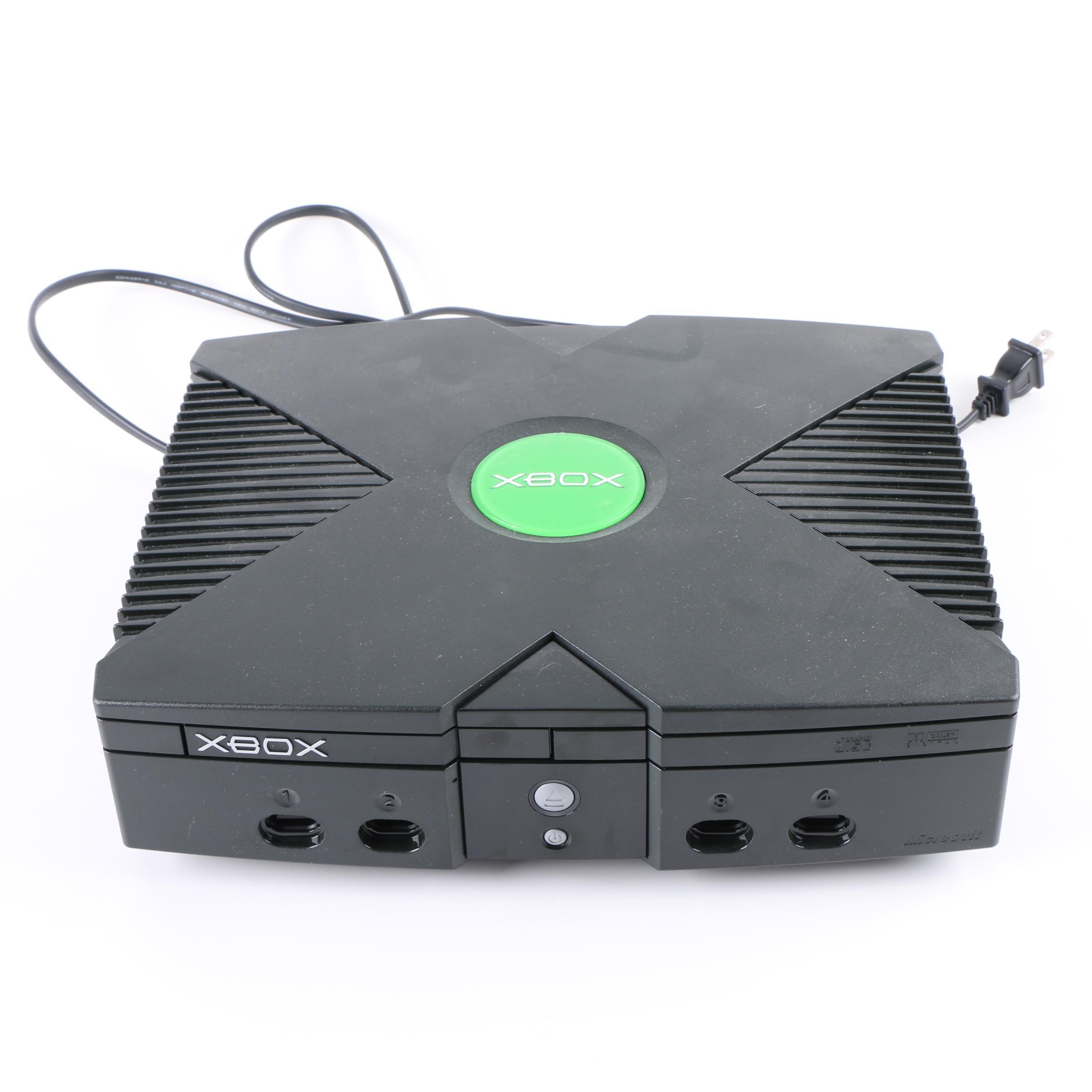 Microsoft Original Xbox Video Game Console