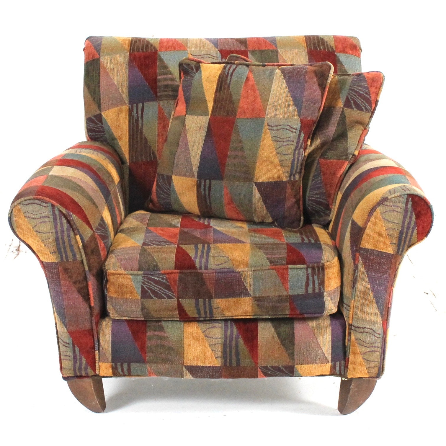Contemporary Upholstered Arm Chair by Alan White