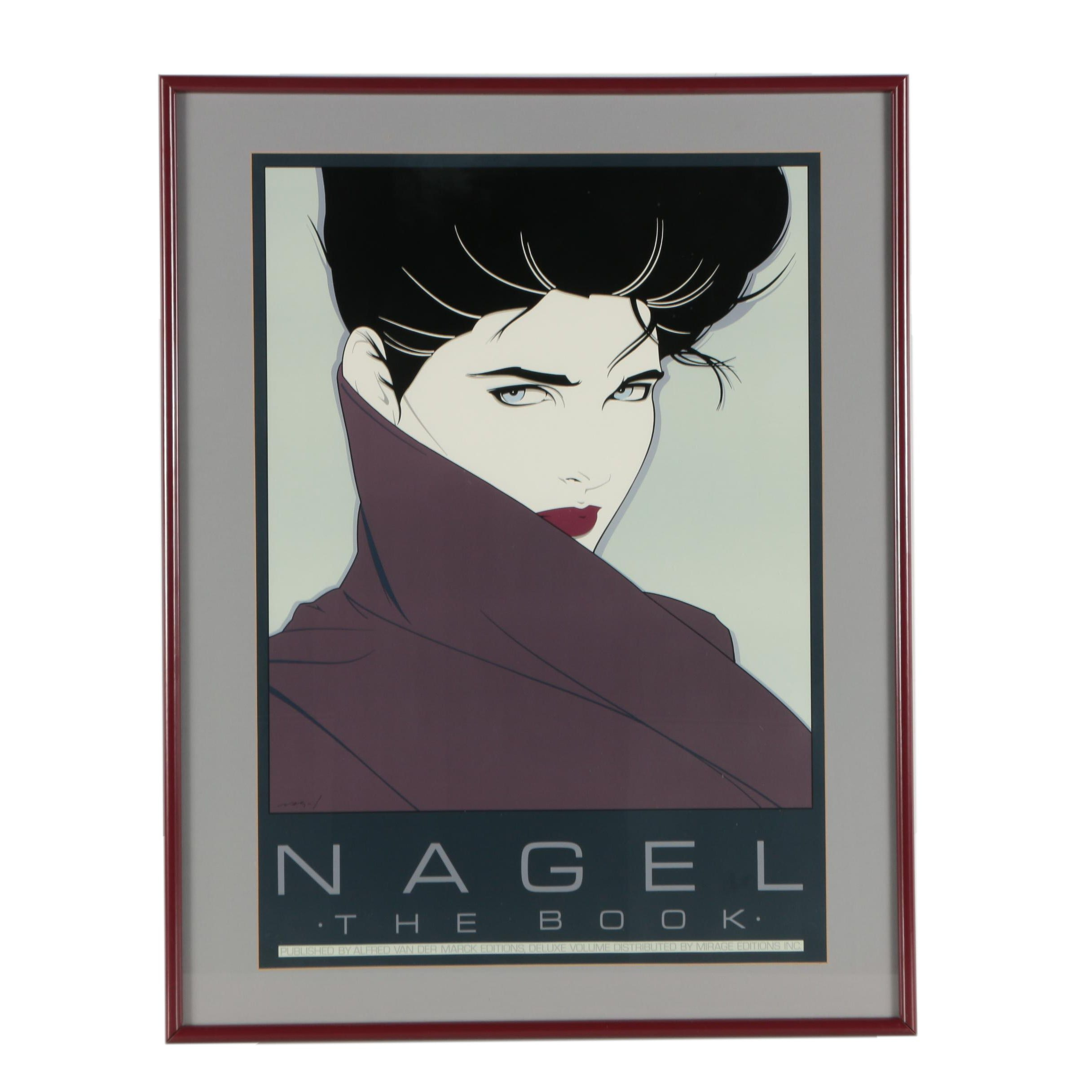 Circa 1980s Serigraph After Patrick Nagel Quot Nagel The Book