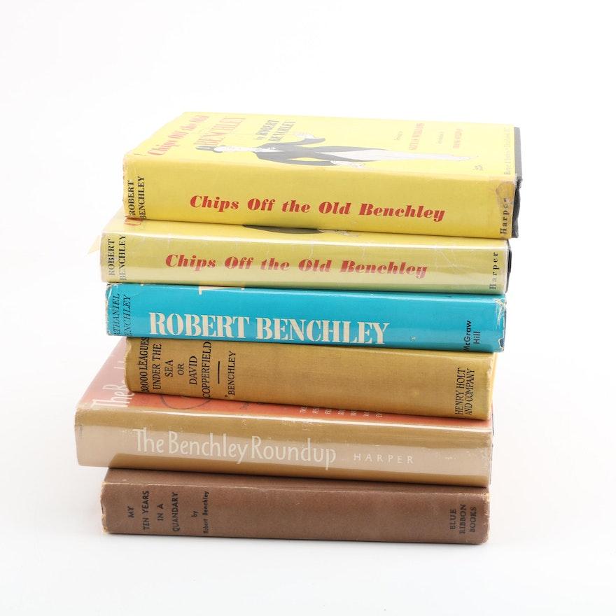 Robert Benchley Humorist Essay Books : EBTH