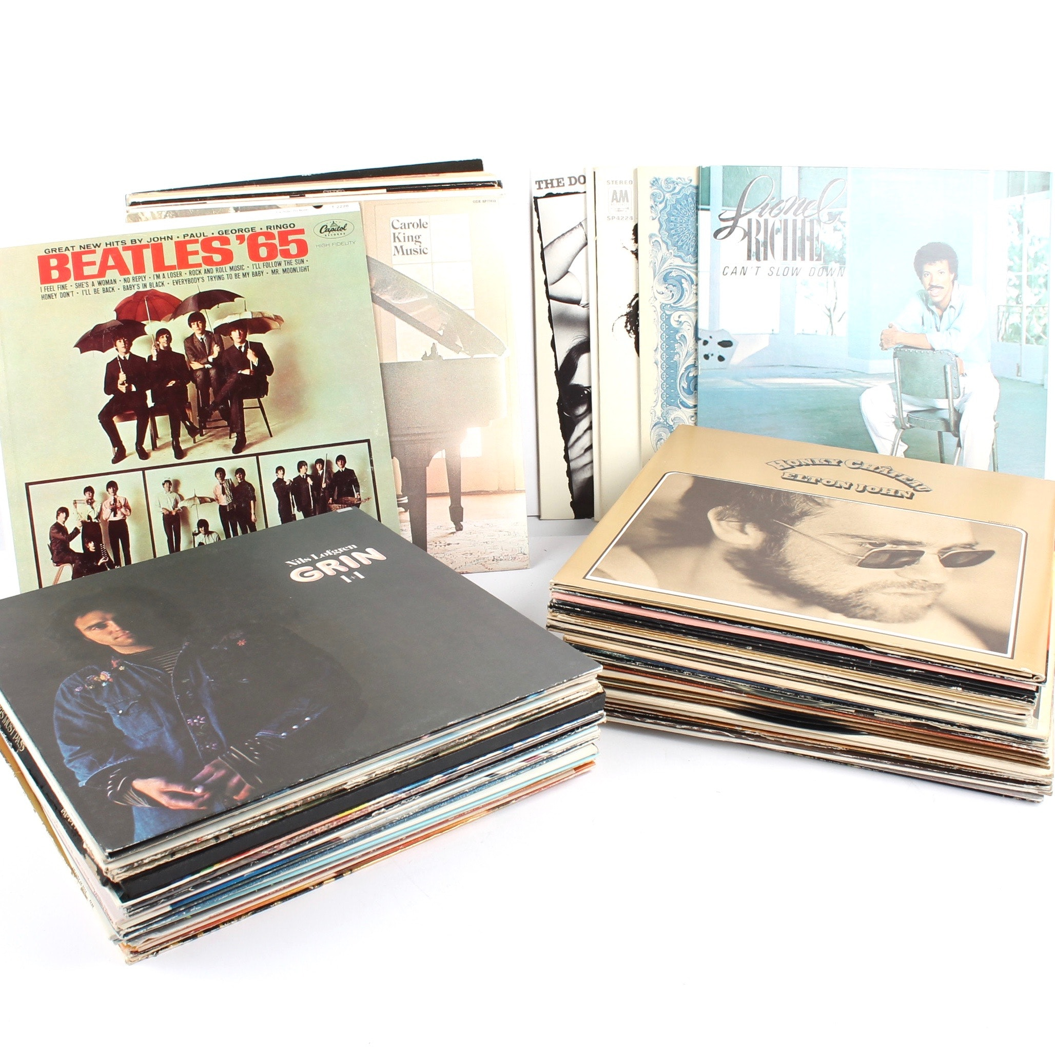 Collection of 33 RPM Popular Music Records