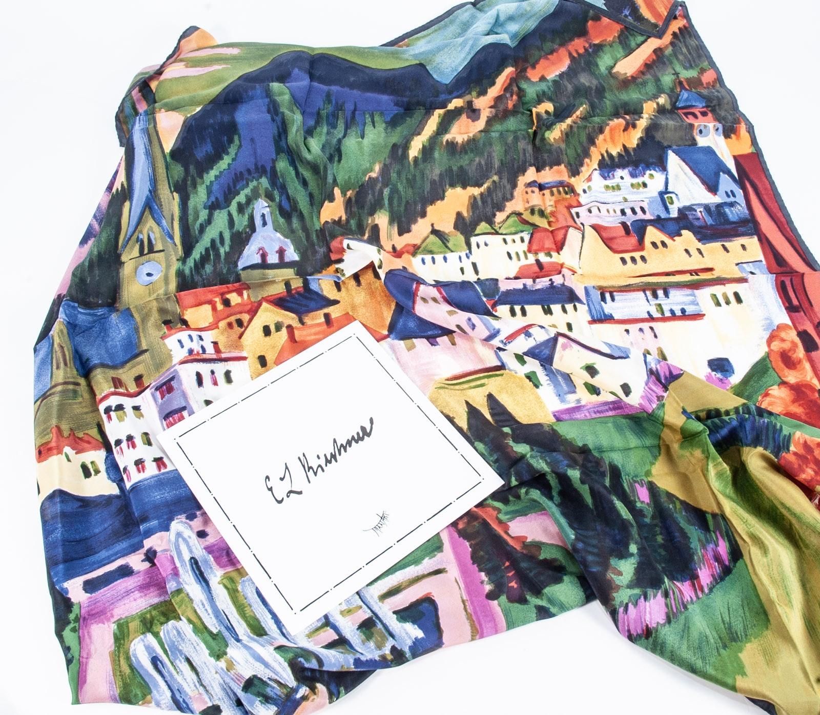 E.L. Kirchner Silk Scarf