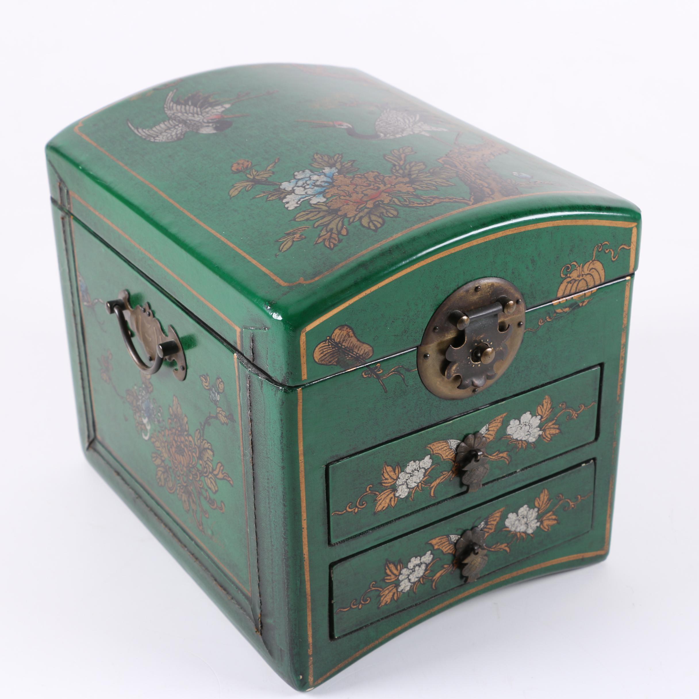 Vintage Chinese Jewelry Box EBTH
