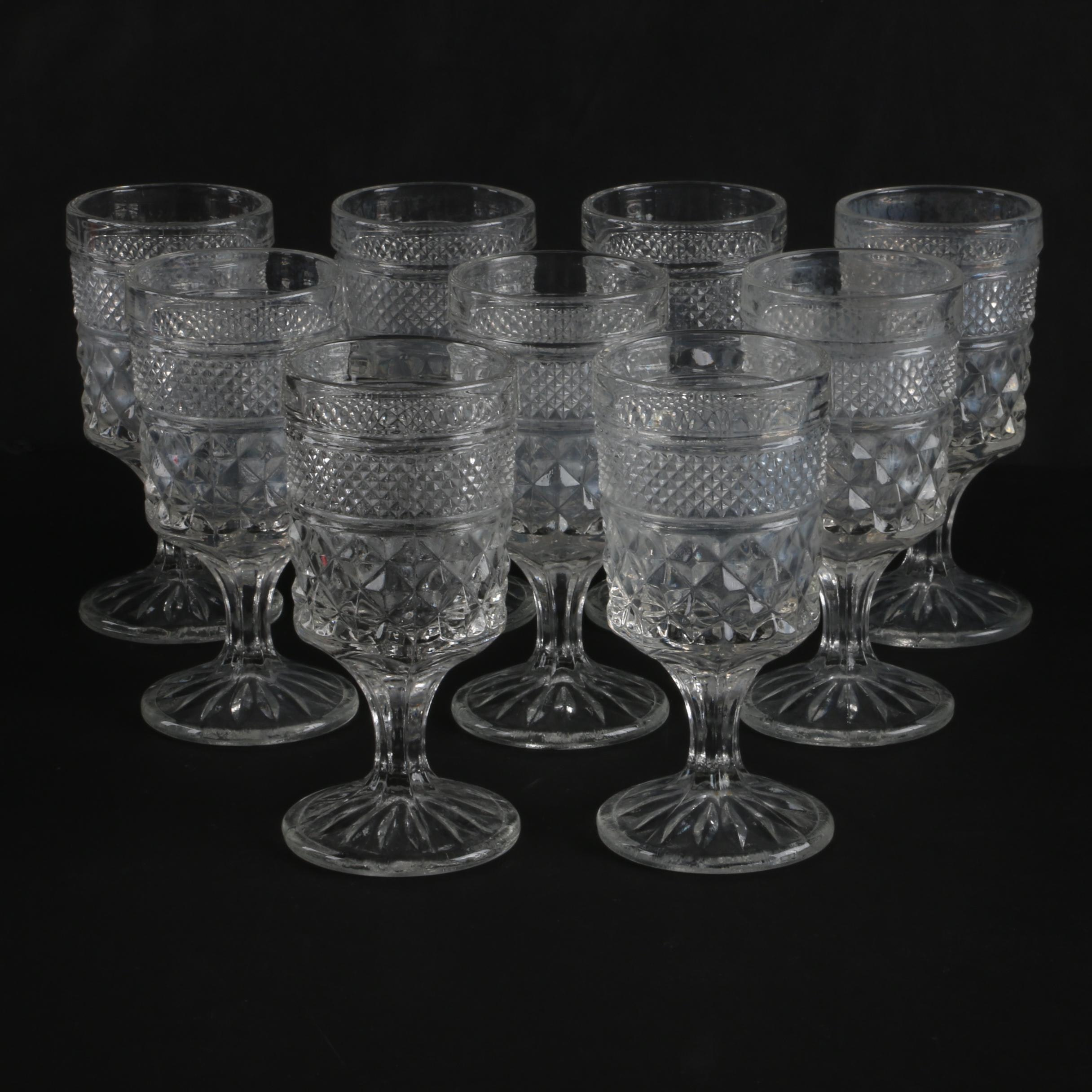 """Anchor Hocking """"Wexford"""" Water Goblets"""