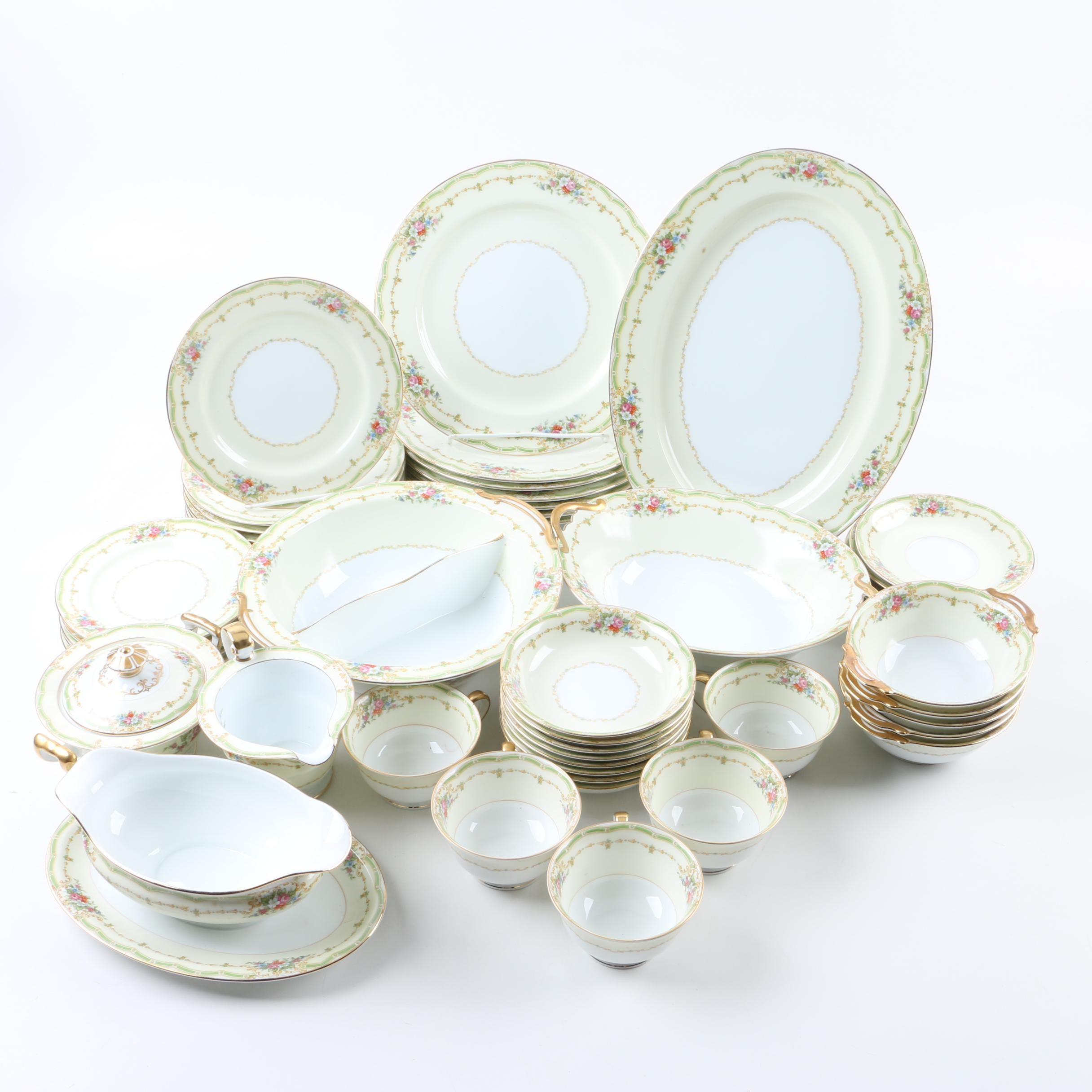 "Noritake ""Exeter"" Porcelain Dinnerware Collection"