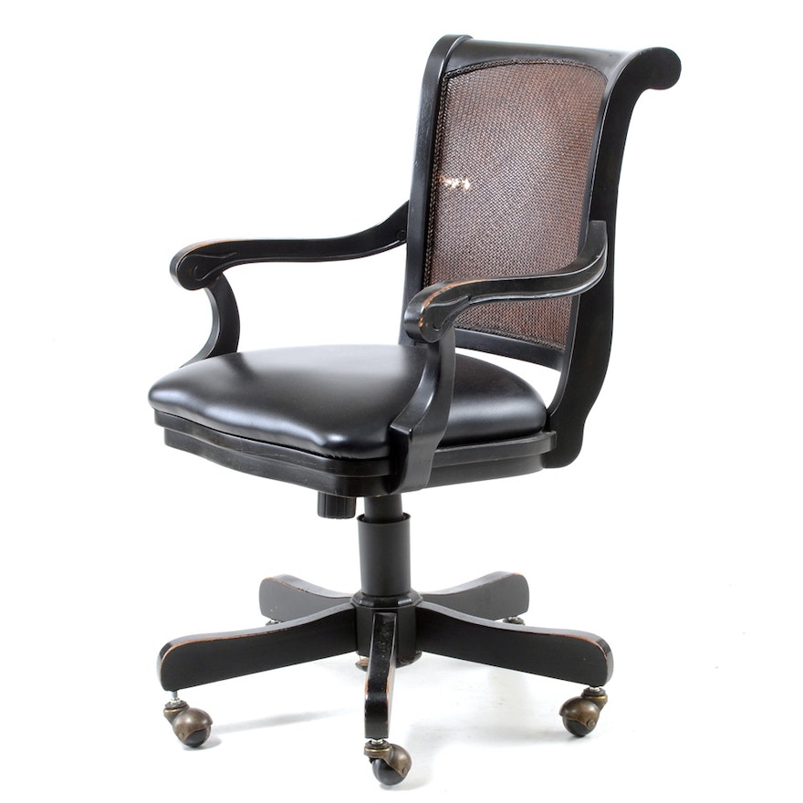 Terrific The Bombay Company Swivel Office Chair Gmtry Best Dining Table And Chair Ideas Images Gmtryco