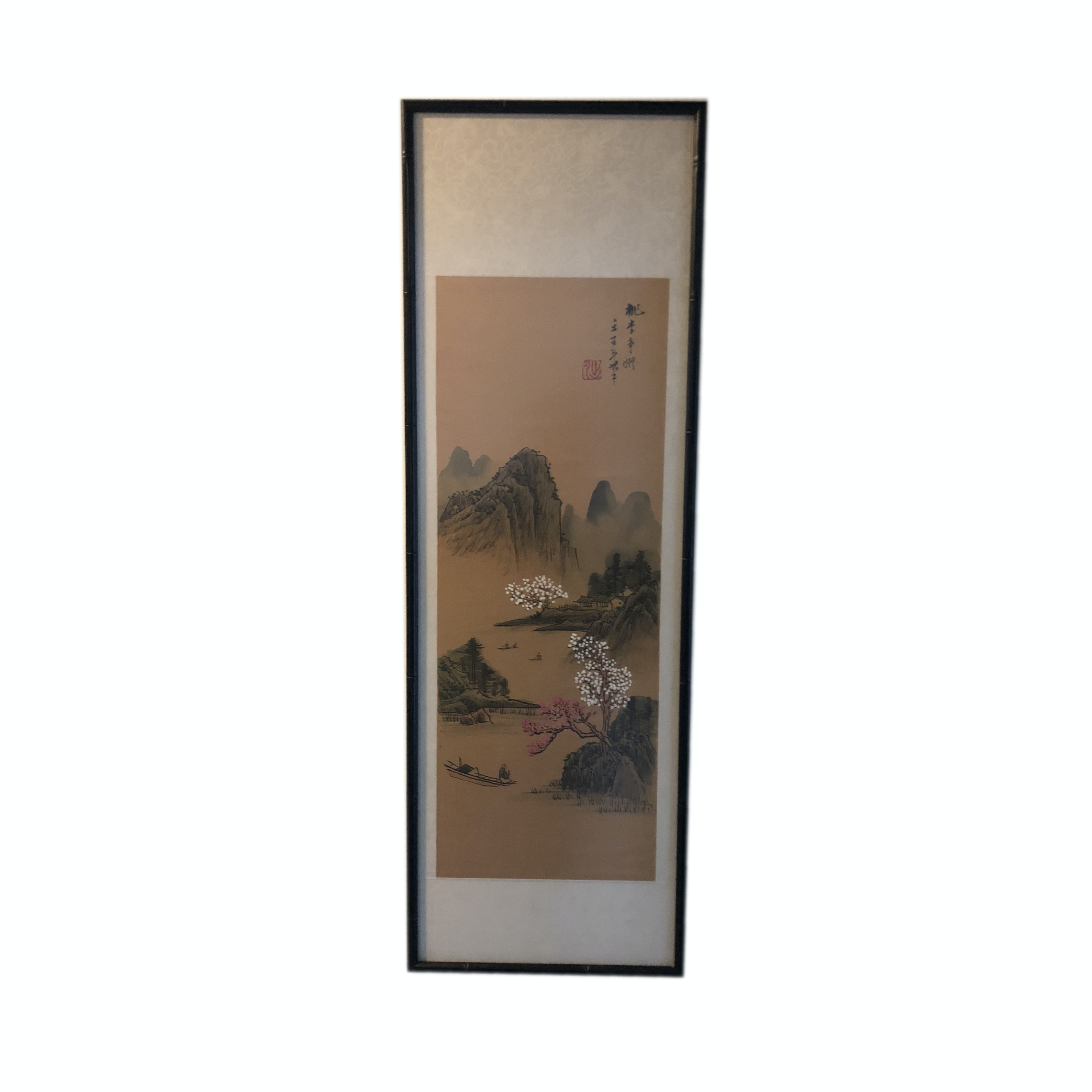 Offset Lithograph After an East Asian Landscape Painting