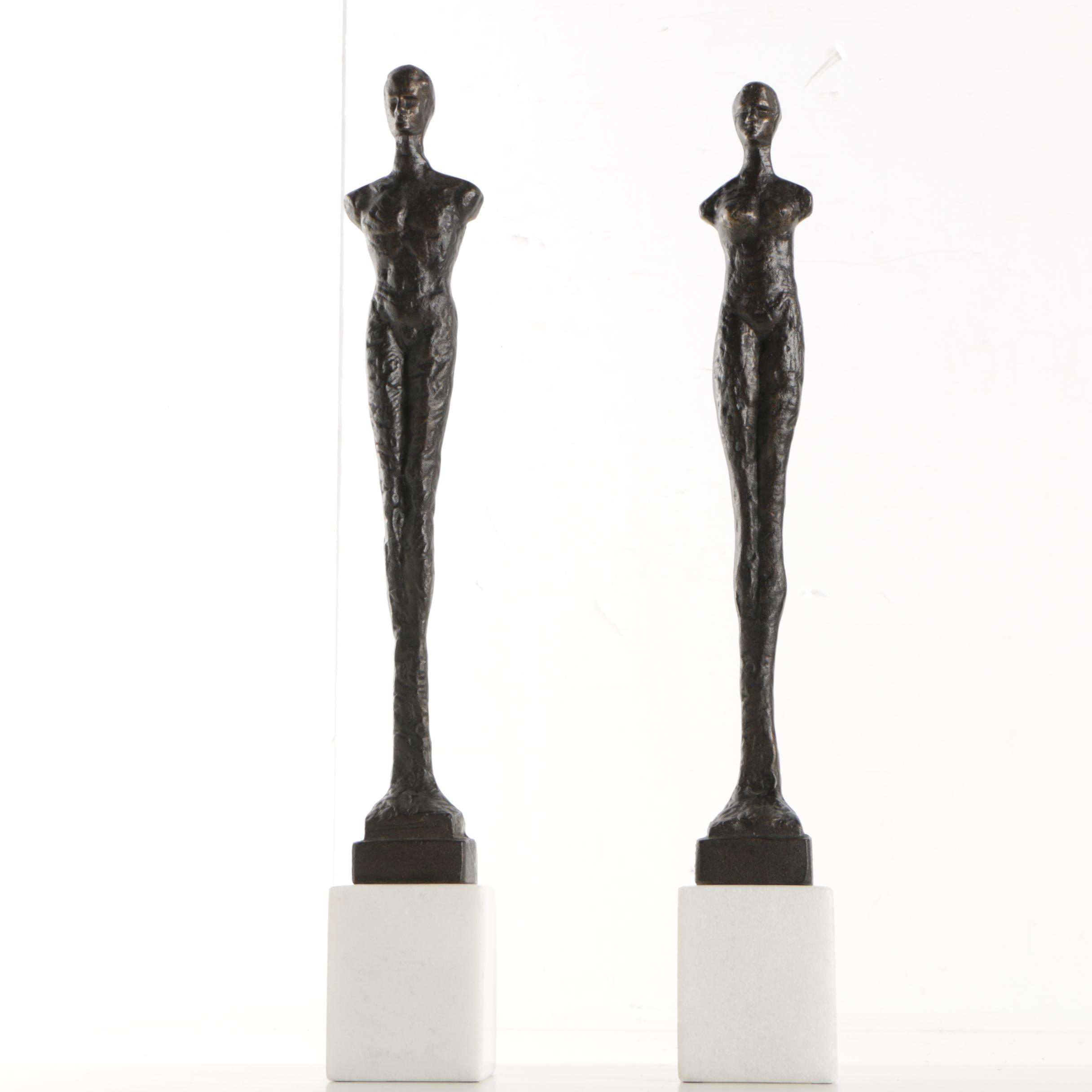 Metal Figure Sculptures