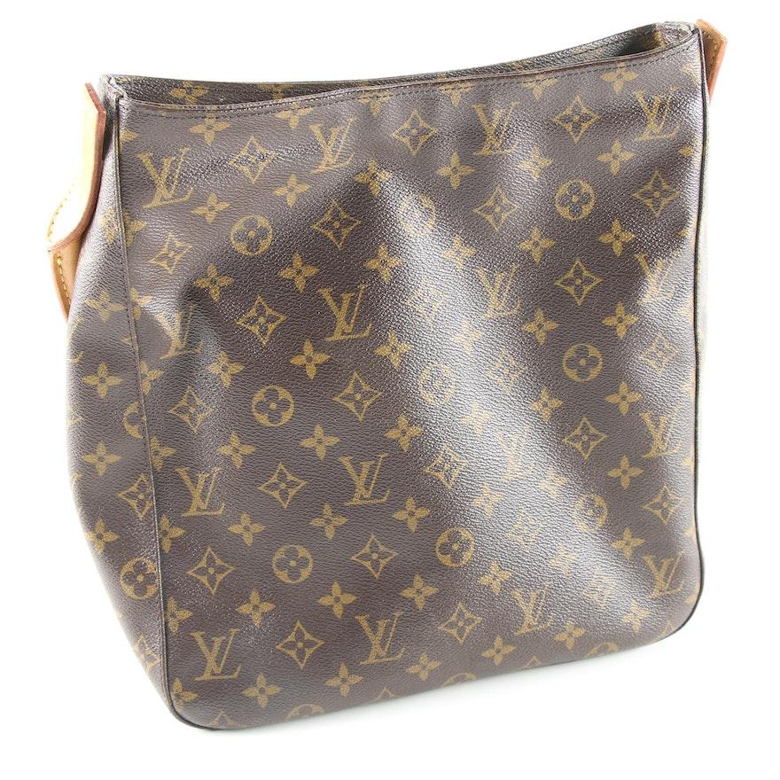 b571607b3842d Louis Vuitton of Paris Monogram Looping GM Shoulder Bag   EBTH