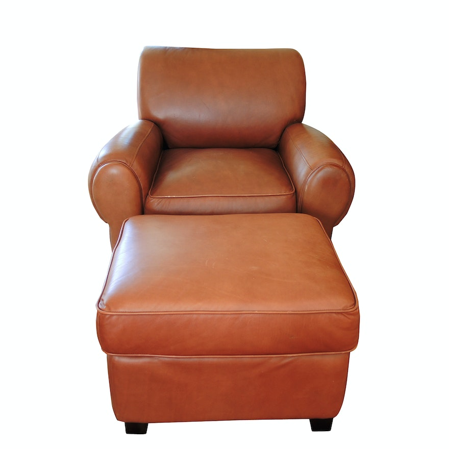 Fabulous Decoro Leather Chair And Ottoman Unemploymentrelief Wooden Chair Designs For Living Room Unemploymentrelieforg