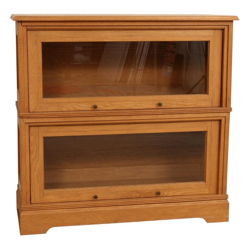 Oak Barrister's Bookcase