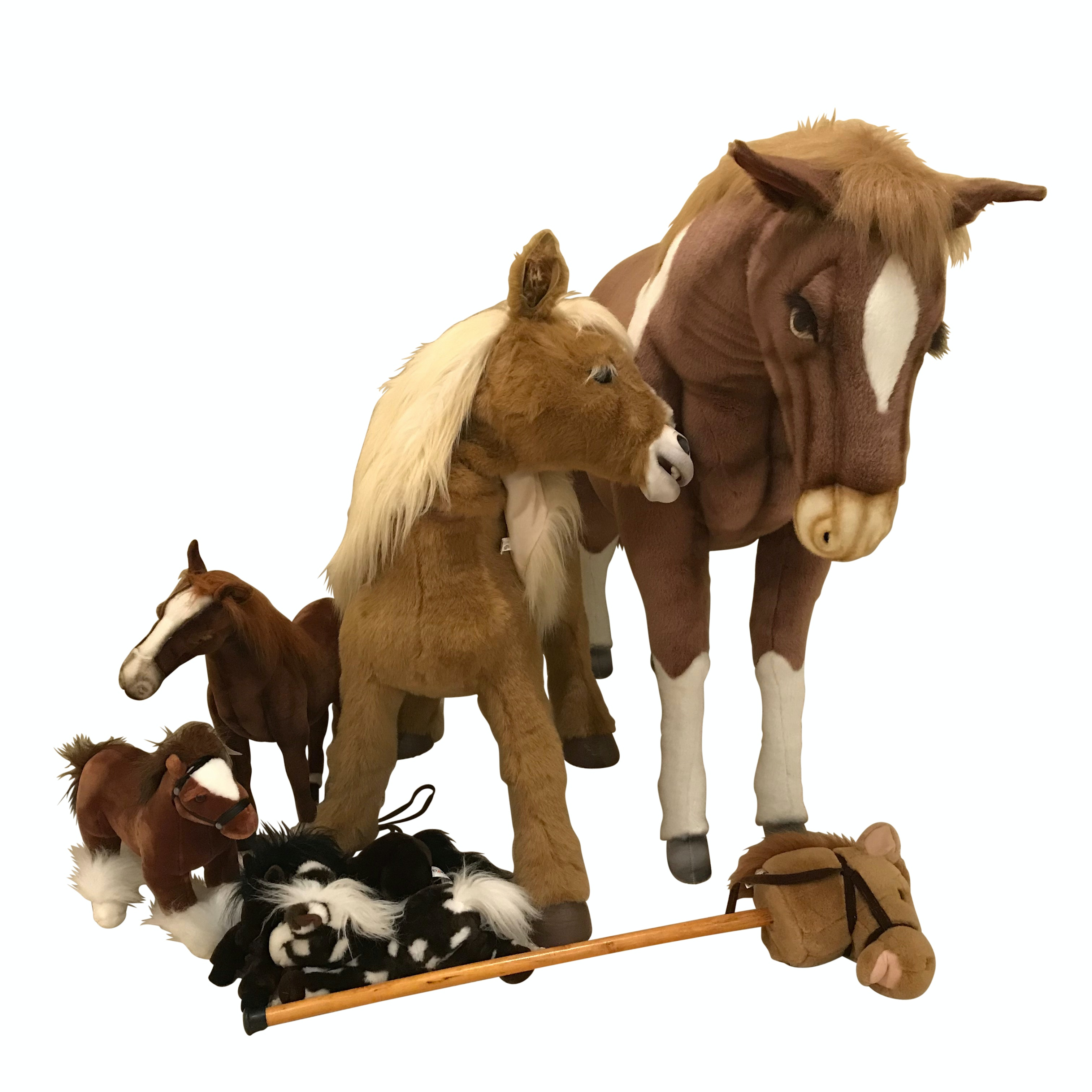 Large Stuffed Fao Schwarz Horse Interactive Horse And Stuffed Toys