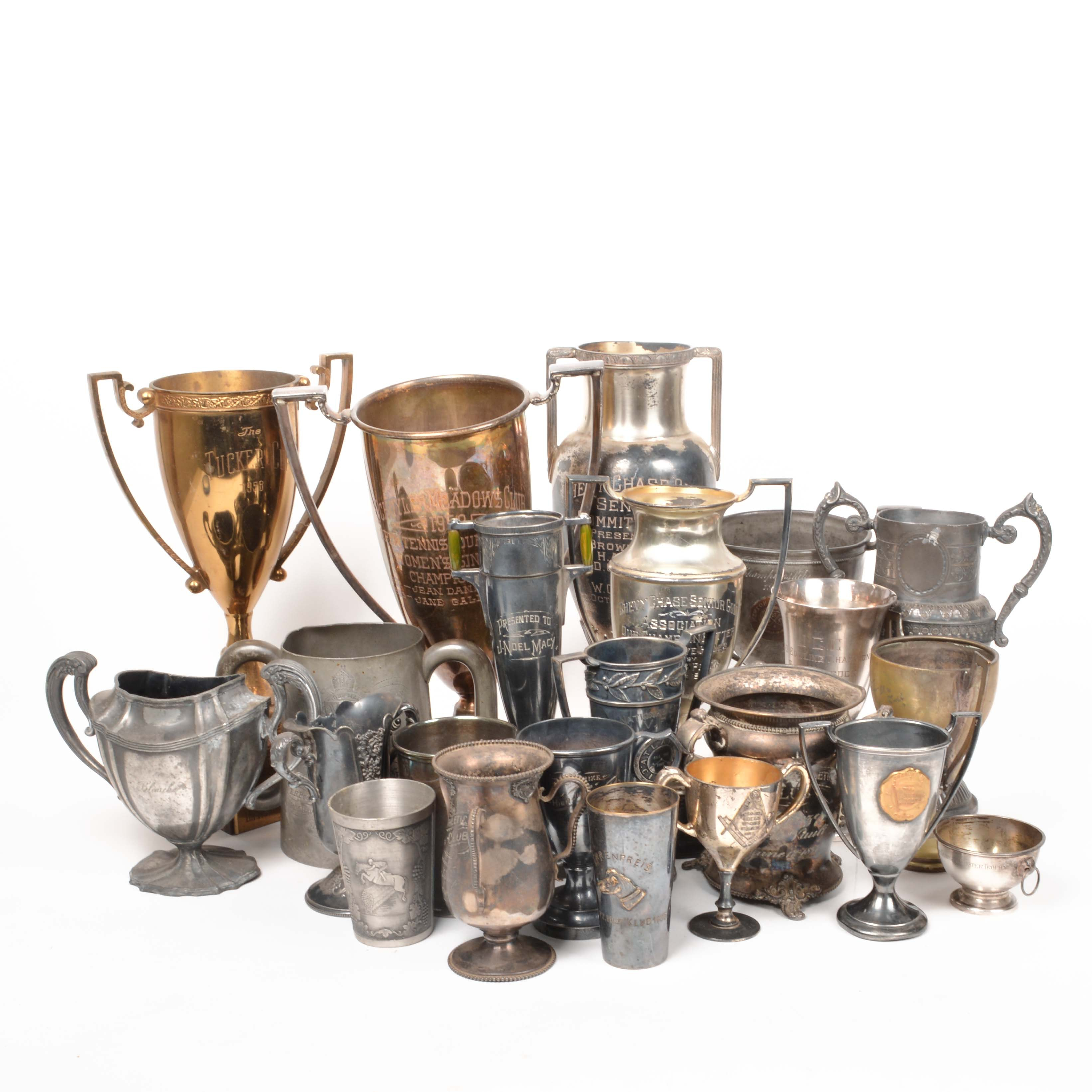 Collection of Vintage Trophies