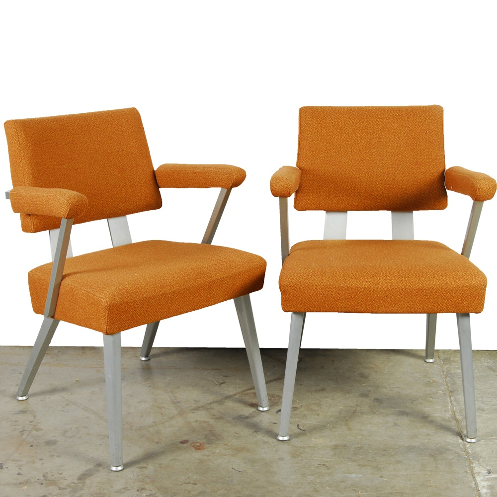 "Mid Century Modern ""Goodform"" Armchairs by General Fireproofing"