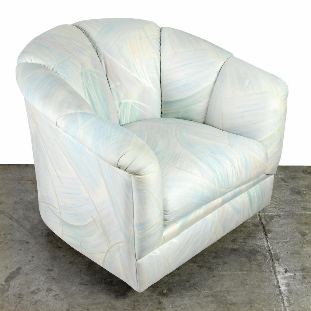 Vintage Swivel Club Chair by Precedent
