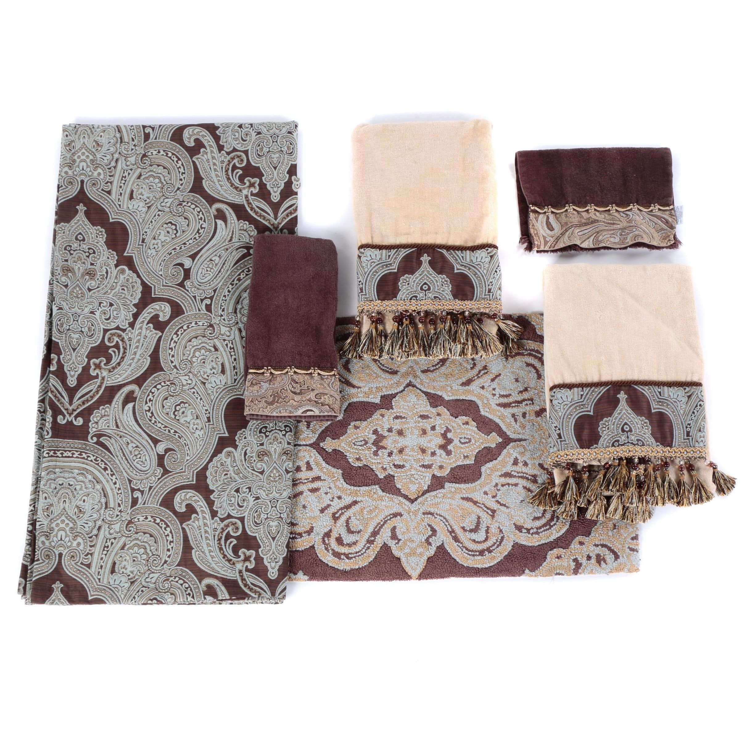Collection of Kitchen and Bath Linens