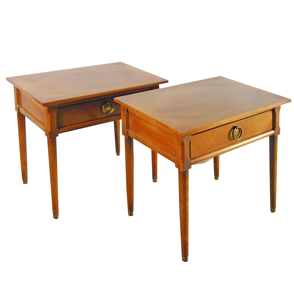 Pair of Vintage Mid-Century End Tables by American of Martinsville