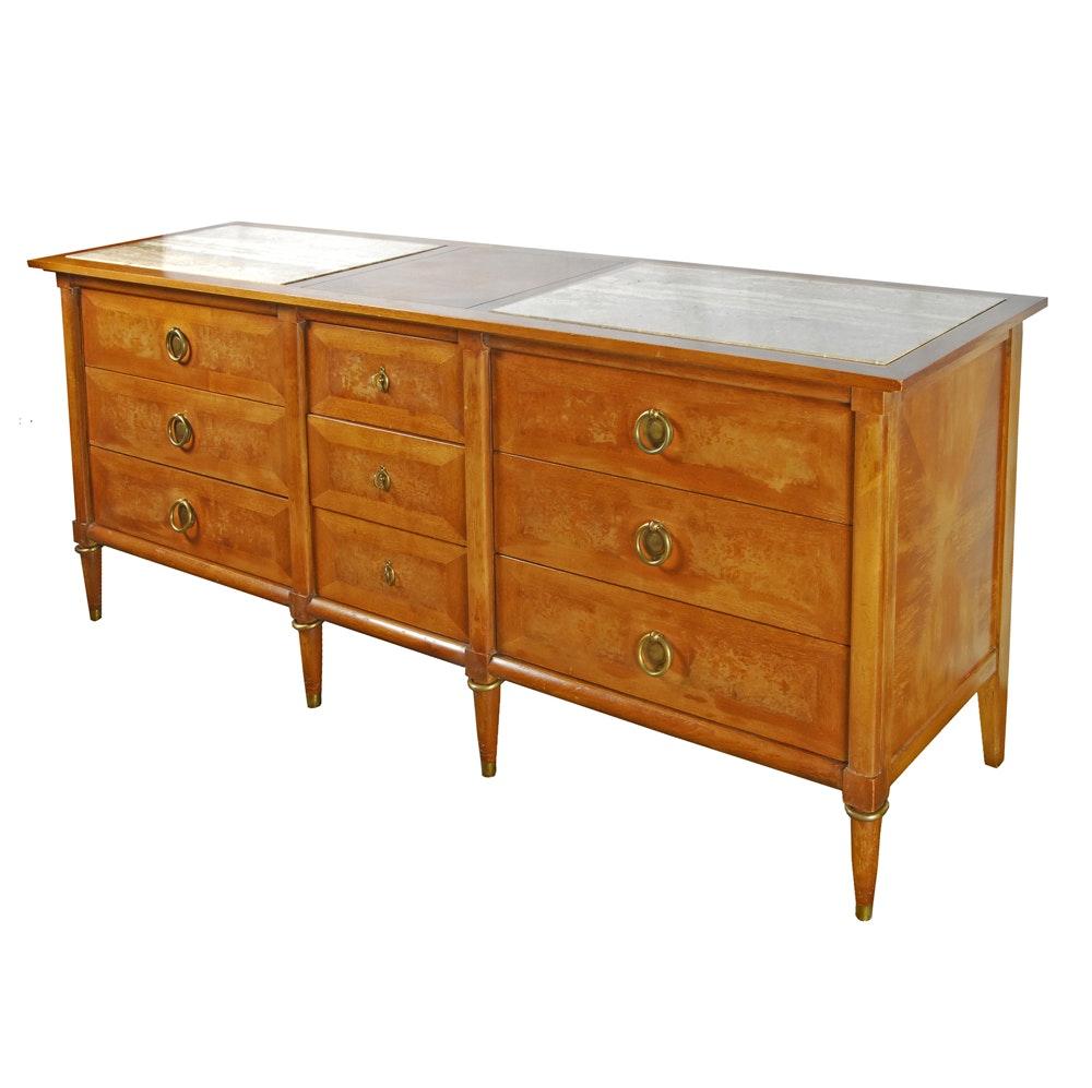 Mid Century Modern Walnut Dresser by American of Martinsville