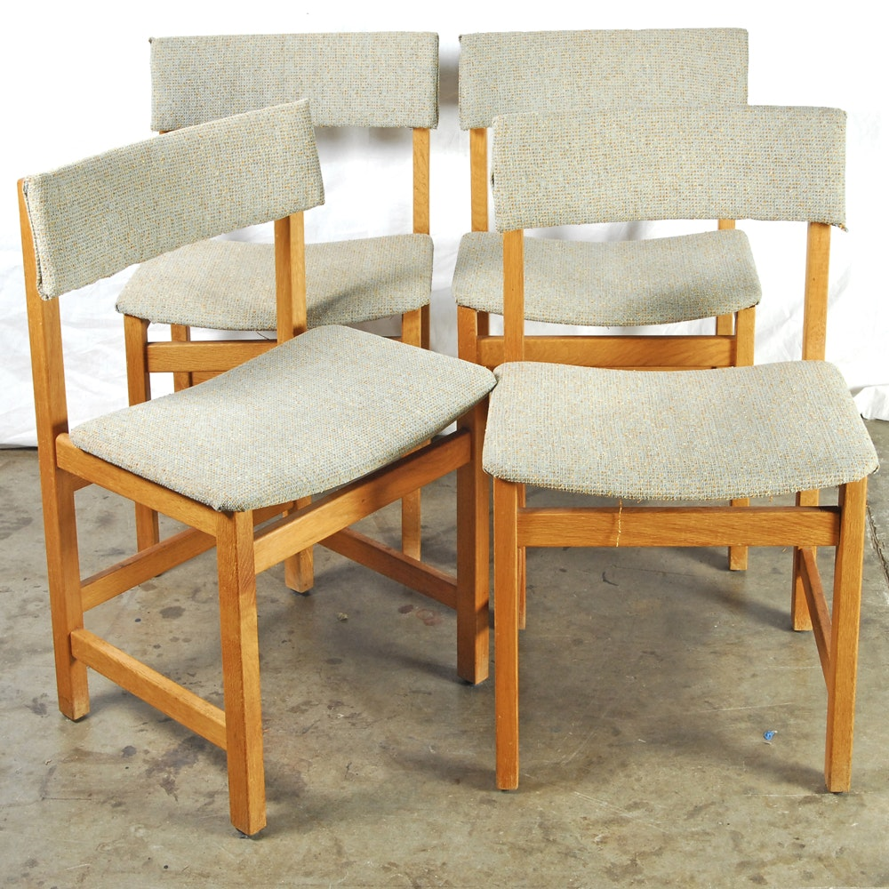 Vintage Danish Modern Side Chairs by Farstrup