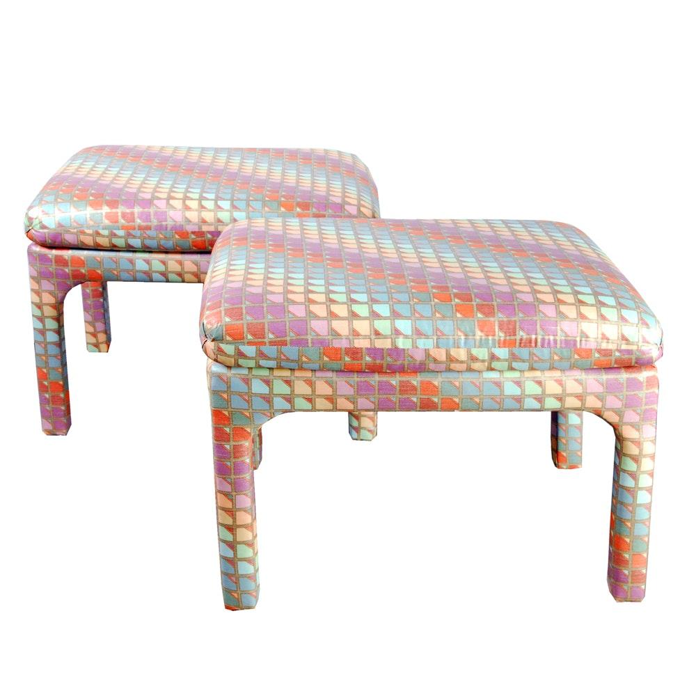 Upholstered Footstools