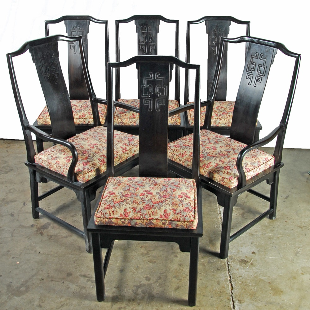 Chinoiserie Dining Chairs By Century Furniture