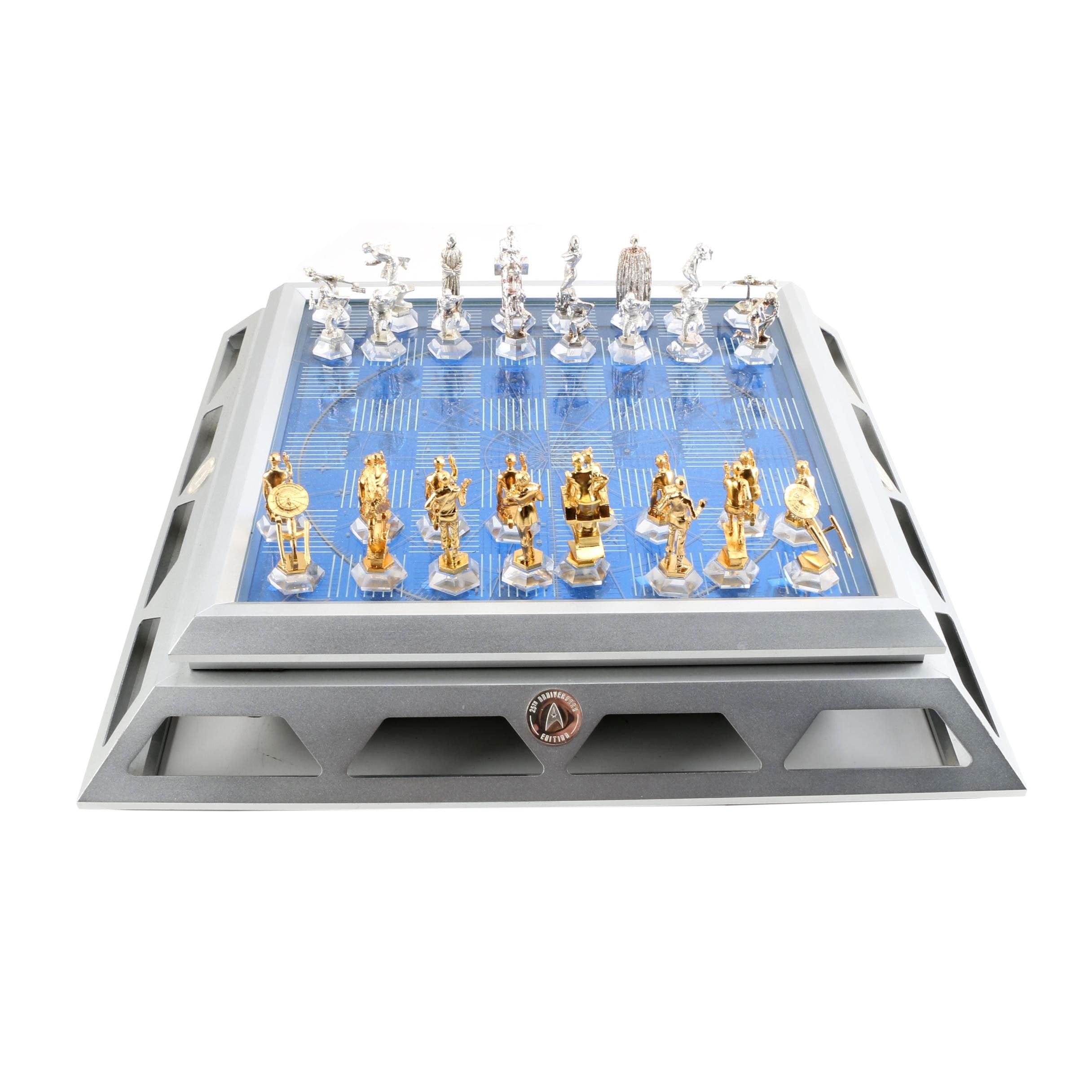 25th Anniversary Edition Star Trek Chess Set