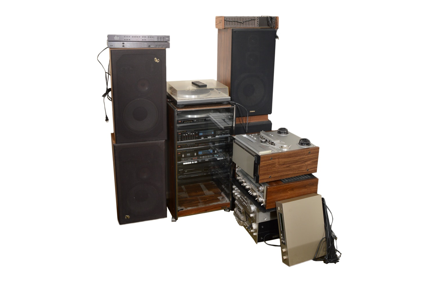 Vintage Speakers and Audio Equipment