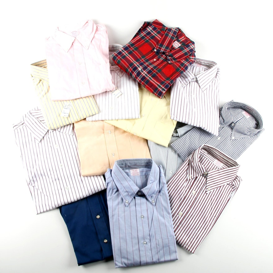 a662b231 Men's Brooks Brothers Button-Front Dress Shirts : EBTH